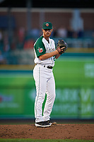 Fort Wayne TinCaps pitcher Cody Tyler (26) during a Midwest League game against the Peoria Chiefs on July 17, 2019 at Parkview Field in Fort Wayne, Indiana.  Fort Wayne defeated Peoria 6-2.  (Mike Janes/Four Seam Images)