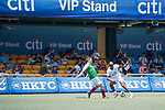 Citi All Stars (in white) vs USRC (in green), during their Masters Tournament match, part of the HKFC Citi Soccer Sevens 2017 on 27 May 2017 at the Hong Kong Football Club, Hong Kong, China. Photo by Marcio Rodrigo Machado / Power Sport Images