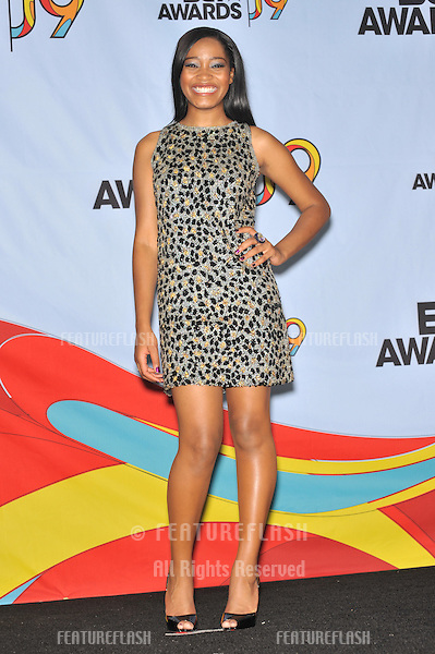 Keke Palmer at the 2009 BET Awards (Black Entertainment Television) at the Shrine Auditorium..June 28, 2009  Los Angeles, CA.Picture: Paul Smith / Featureflash