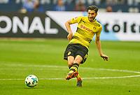 Nuri SAHIN, BVB 8  <br /> FC SCHALKE 04 -  BORUSSIA DORTMUND 2-0<br /> Football 1. Bundesliga , Gelsenkirchen,15.04.2018, 30. match day,  2017/2018 1.Bundesliga, BVB, S04, <br />  *** Local Caption *** © pixathlon<br /> Contact: +49-40-22 63 02 60 , info@pixathlon.de