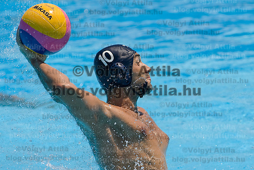 Water polo match between Roumania and Hungary. Hungary won 16:8 during the finals 13th FINA Swimming World Championships held in Rome, Italy. Thursday, 30. July 2009. ATTILA VOLGYI