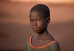 A boy in the Yida refugee camp in South Sudan. Some 53,000 refugees from Sudan's Nuba Mountains live in the camp, with an equal number living in two nearby camps.