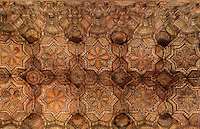 Muqarnas ceiling, Cappella Palatina (Palatine Chapel), 1130 - 1140, by Roger II, within the Palazzo dei Normanni (Palace of the Normans), Palermo, Sicily, Italy. Picture by Manuel Cohen