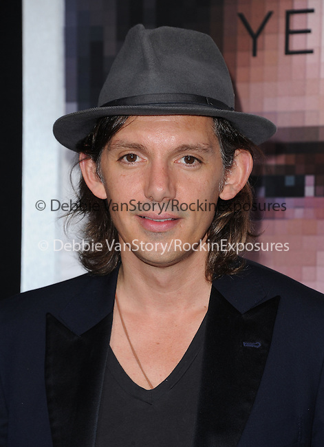 """Lukas Haas attends The L.A. Premiere of Alcon Entertainment's """"TRANSCENDENCE"""" held at The Regency Village Theater in Westwood, California on April 10,2014                                                                               © 2014Hollywood Press Agency"""