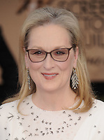 www.acepixs.com<br /> <br /> January 29 2017, LA<br /> <br /> Meryl Streep arriving at the 23rd Annual Screen Actors Guild Awards at The Shrine Expo Hall on January 29, 2017 in Los Angeles, California<br /> <br /> By Line: Peter West/ACE Pictures<br /> <br /> <br /> ACE Pictures Inc<br /> Tel: 6467670430<br /> Email: info@acepixs.com<br /> www.acepixs.com