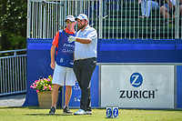 Shane Lowry (IRL) looks over his tee shot on 10 during Round 2 of the Zurich Classic of New Orl, TPC Louisiana, Avondale, Louisiana, USA. 4/27/2018.<br /> Picture: Golffile | Ken Murray<br /> <br /> <br /> All photo usage must carry mandatory copyright credit (&copy; Golffile | Ken Murray)