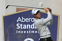Thomas Detry (BEL) on the 8th tee during Round 1 of the Aberdeen Standard Investments Scottish Open 2019 at The Renaissance Club, North Berwick, Scotland on Thursday 11th July 2019.<br /> Picture:  Thos Caffrey / Golffile<br /> <br /> All photos usage must carry mandatory copyright credit (© Golffile | Thos Caffrey)