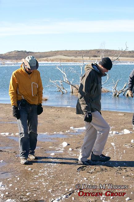 Greg & Matt Checking Out Quicksand