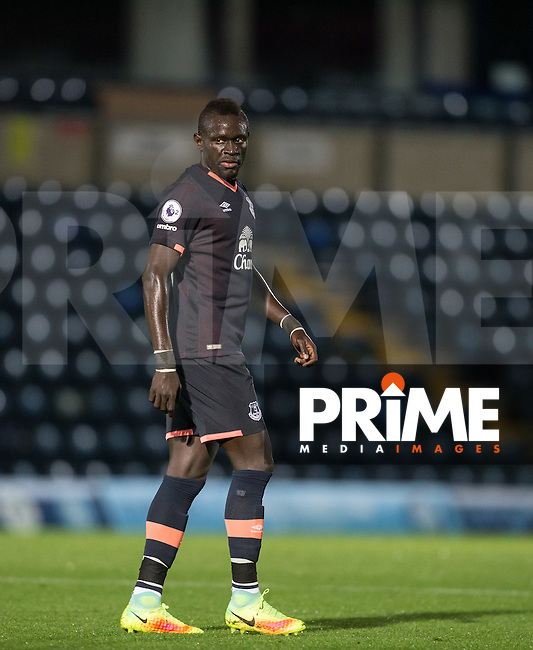 Everton outcast Oumar Niasse scorer of a first half hat trick during his sides 6-3 victory during the EPL2 - U23 - Premier League 2 match between Reading and Everton at Adam Park, Wycombe, England on 17 October 2016. Photo by Andy Rowland.