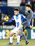 CD Leganes' Unai Lopez (l) and Celta de Vigo's Pedro Pablo Hernandez during La Liga match. January 28,2017. (ALTERPHOTOS/Acero)