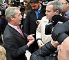 UKIP <br /> General Election 2015 <br /> launch in Smith Square, Westminster, London, Great Britain <br /> 30th March 2015 <br /> <br /> Nigel Farage <br /> leader of UKIP <br /> <br /> <br /> Photograph by Elliott Franks <br /> Image licensed to Elliott Franks Photography Services