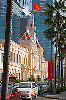 City Hall and general and interesting street scenes in Ho Chi Minh City.<br />
