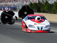 Mar. 12, 2011; Gainesville, FL, USA; NHRA pro stock driver Richard Freeman during qualifying for the Gatornationals at Gainesville Raceway. Mandatory Credit: Mark J. Rebilas-.