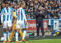 Huddersfield Town manager David Wagner applauds his team during the second half<br /> <br /> Photographer Alex Dodd/CameraSport<br /> <br /> The EFL Sky Bet Championship - Huddersfield Town v Preston North End - Friday 14th April 2016 - The John Smith's Stadium - Huddersfield<br /> <br /> World Copyright &copy; 2017 CameraSport. All rights reserved. 43 Linden Ave. Countesthorpe. Leicester. England. LE8 5PG - Tel: +44 (0) 116 277 4147 - admin@camerasport.com - www.camerasport.com