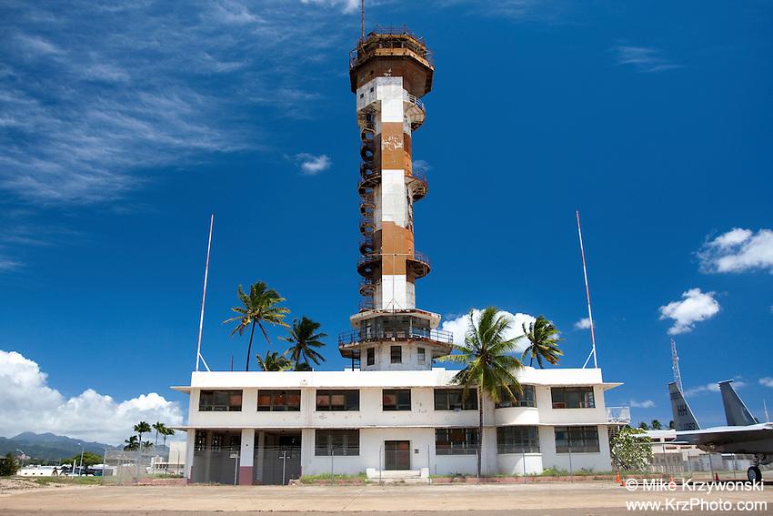 Ford Island Control Tower, Oahu, Hawaii