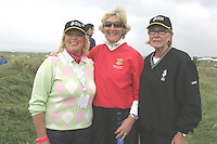 Michelle Reddan, Eleanor Branigan and Rita O'Connor at the 3 Irish Open Golf in Baltray...Photo NEWSFILE/Jenny Matthews.(Photo credit should read Jenny Matthews/NEWSFILE)....This Picture has been sent you under the condtions enclosed by:.Newsfile Ltd..The Studio,.Millmount Abbey,.Drogheda,.Co Meath..Ireland..Tel: +353(0)41-9871240.Fax: +353(0)41-9871260.GSM: +353(0)86-2500958.email: pictures@newsfile.ie.www.newsfile.ie.FTP: 193.120.102.198.
