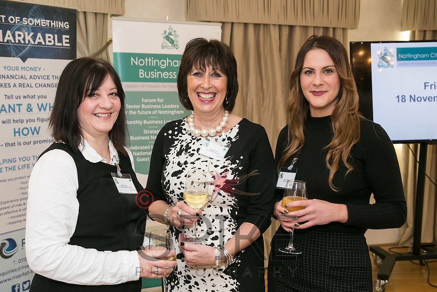 From left are Maria Cooke and Maggie Ross of Age UK with Masa Prastalo of Your HR Lawyer