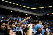 November 18, 2008. Chapel Hill, NC..UNC vs. Kentucky, at the Dean Smith Center in Chapel Hill.. The student section.