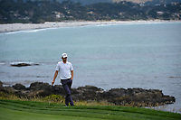 Thomas Pieters (BEL) waits to putt on 8 during round 1 of the 2019 US Open, Pebble Beach Golf Links, Monterrey, California, USA. 6/13/2019.<br /> Picture: Golffile | Ken Murray<br /> <br /> All photo usage must carry mandatory copyright credit (© Golffile | Ken Murray)