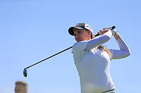 Karen O'Neill (Douglas) during the second round of the Irish Womans Open Strokeplay Championship, Co Louth Golf Club, Baltray, Drogheda, Co Louth, Ireland. 12/05/2018.<br /> Picture: Golffile | Fran Caffrey<br /> <br /> <br /> All photo usage must carry mandatory copyright credit (&copy; Golffile | Fran Caffrey)