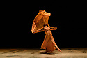 """The Barbican presents Viviana Durante Company, in the world premiere of """"Isadora Now"""", an evening paying tribute to feminist icon, Isadora Duncan, in the Barbican theatre. The piece shown is: FIVE BRAHMS WALTZES IN THE MANNER OF ISADORA DUNCAN, choreographed by Frederick Aston. The dancer is: Begona Cao. Costume design is by David Dean."""