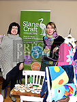 Martina Farrell and Caoimhe Tuthill from Slane Craft Collective pictured at the Drogheda Market held in St. Peter's Parish Hall. Photo:Colin Bell/pressphotos.ie