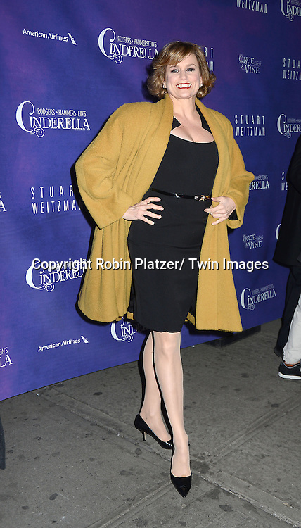 Cady Huffman attends Rogers +  Hammerstein's Cinderella Broadway Opening night on March 3, 2013 at the Broadway Theatre in New York City.