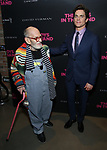 Larry Kramer and Matt Bomer attends the 'The Boys In The Band' 50th Anniversary Celebration at The Second Floor NYC on May 30, 2018 in New York City.