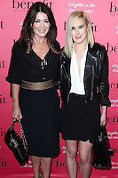 HOLLYWOOD, LOS ANGELES, CA, USA - SEPTEMBER 26: Lisa Vanderpump, Rumer Willis arrive at the Benefit Cosmetics: Wing Woman Weekend Kick-Off Party held at the Benefit Tattoo Parlor on September 26, 2014 in Hollywood, Los Angeles, California, United States. (Photo by Xavier Collin/Celebrity Monitor)