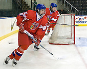 Roman Horak (Czech Republic - 23), Daniel Krejci  (Czech Republic - 8) - Sweden defeated the Czech Republic 4-2 at the Urban Plains Center in Fargo, North Dakota, on Saturday, April 18, 2009, in their final match of the 2009 World Under 18 Championship.