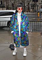 Street style, Autumn Winter 2020, London Fashion Week, London February 15th 2020<br /> <br /> <br /> Photo by Keith Mayhew
