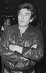 Albert Finney take in a Broadway Show in New York City. September 30, 1981