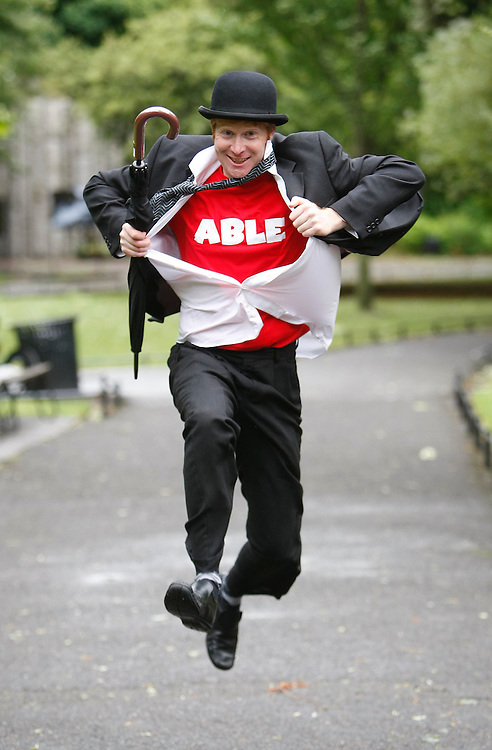Ready and ABLE.....Johnny Phelan, pictured here at the launch of the ABLE Business Excellence Award, a joint initiative by Rehab and the Excellence Ireland Quality Association. The award sets the standard for Irish companies in how they interact with people with disabilities. Pic. Robbie Reynolds.