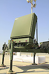 The radar of Iron Dome  Ballistic Missile Defense, a missile system designed to intercept and destroy short-range rockets, manufactured by Israeli company ELTA Systems