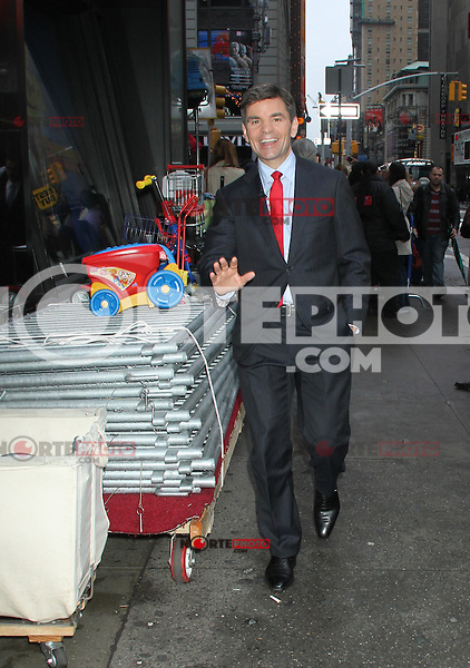 May 04, 2012 George Stephanopoulos host of  Good  Morning America  in New York City.Credit:RWMediapunchinc.com