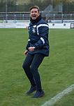 17.11.2019, Marschwegstadion, Oldenburg, GER,RL Nord, VfB Oldenburg  vs Holstein Kiel II U23, im Bild<br /> das Spiel ist aus.. Alexander KIENE (VfB Oldenburg #Trainer )<br /> Foto © nordphoto / Rojahn
