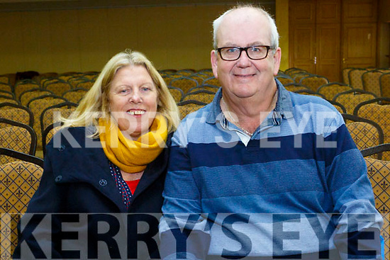 At RTE's Live line with  Joe Duffy, funny Friday at the Brandon Hotel on Friday were Julie Crotty and Joe Crotty
