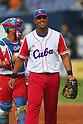 Jose Abreu (CUB), .February 27, 2013 - WBC : .2013 World Baseball Classic, Exhibithion Game .match between Cuba 3-2 Hanshin Tigers .at Kyocera Dome, Osaka, Japan..(Photo by AJPS/AFLO SPORT) [1045]