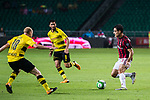 AC Milan Midfielder Giacomo Bonaventura (R) in action against Borussia Dortmund Midfielder Sebastian Rode (L) during the International Champions Cup 2017 match between AC Milan vs Borussia Dortmund at University Town Sports Centre Stadium on July 18, 2017 in Guangzhou, China. Photo by Marcio Rodrigo Machado / Power Sport Images