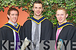 Pictured at the ITT graduations in the Brandon Hotel on Friday, from left: Ronan Phelan (Killorglin) and Padraig Murphy (Killorglin) and Gareth Carr (Killorglin).