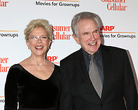 LOS ANGELES - JAN 11:  Annette Bening and Warren Beatty at the AARP Movies for Grownups 2020 at the Beverly Wilshire Hotel on January 11, 2020 in Beverly Hills, CA