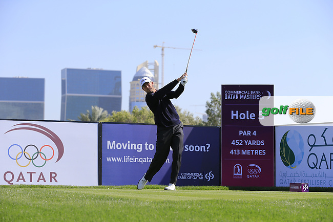 David HOWELL (ENG) during Wednesday's Pro-Am day of the 2015 Commercial Bank Qatar Masters, Doha Golf Club, Doha, Qatar.: Picture Eoin Clarke, www.golffile.ie: 1/20/2015