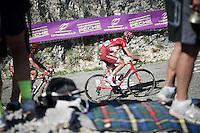 Ilnur Zakarin (RUS/Katusha) up the Lacets du Grand Colombier (Cat1/891m/8.4km/7.6%)<br /> <br /> stage 15: Bourg-en-Bresse to Culoz (160km)<br /> 103rd Tour de France 2016