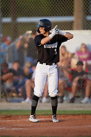 Jack O'Dowd (5) during the WWBA World Championship at the Roger Dean Complex on October 10, 2019 in Jupiter, Florida.  Jack O'Dowd attends Lipscomb Academy in Nashville, TN and is committed to Vanderbilt.  (Mike Janes/Four Seam Images)