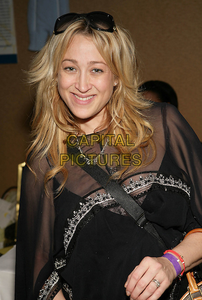 JENNIFER BLANC.Boom Boom Room?s Children?s Gifting Wonderland presented by Born Free and Baskin Robbins held at the Century Plaza Hotel, Century City, California, USA..January 9th, 2009.half length black sheer top .CAP/ADM/TC.©T. Conrad/AdMedia/Capital Pictures.
