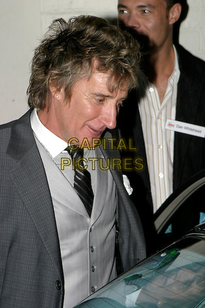 ROD STEWART.Ariel - private view & VIP launch party at The Vinyl Factory, W1, London, UK..October 26th, 2005.Ref: AH.headdhot portrait.www.capitalpictures.com.sales@capitalpictures.com.© Capital Pictures.