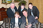 John and Kathleen Joy seated with Conor and Dodds Liston and Padraig Murphy were at the Beale GAA Social in the Listowel Arms Hotel on Friday night   Copyright Kerry's Eye 2008