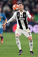 Federico Bernardeschi of Juventus in action during the Uefa Champions League 2018/2019 round of 16 second leg football match between Juventus and Atletico Madrid at Juventus stadium, Turin, March, 12, 2019 <br />  Foto Andrea Staccioli / Insidefoto