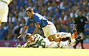 20/08/2005         Copyright Pic : James Stewart.File Name : jspa02 rangers v celtic.ALAN THOMPSON IS SENT OFF FOR THIS LATE CHALLENGE ON NACHO NOVO.Payments to :.James Stewart Photo Agency 19 Carronlea Drive, Falkirk. FK2 8DN      Vat Reg No. 607 6932 25.Office     : +44 (0)1324 570906     .Mobile   : +44 (0)7721 416997.Fax         : +44 (0)1324 570906.E-mail  :  jim@jspa.co.uk.If you require further information then contact Jim Stewart on any of the numbers above.........