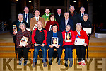 Tralee Pioneers who have completed 25, 50, 60 or more years membership of the Pioneer Total Abstinence Association who were presented with pins and certificates after the 6.10pm Vigil Mass in St. John's Church, Tralee on Saturday night last, were front l-r: Carmel O'Connor, Thomas Hill, Mary Walsh, Mary O'Shea and Patsy Quirke. Back l-r: Con McCarthy, John Griffin, Billy Ryle, Fr. Bernard Healy, Ina Healy, Derry O'Mahony, Colm Keane, Brendan Harnett, Bernie Rohan and Michael Moran.